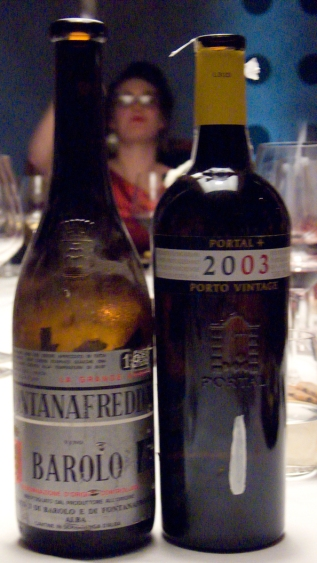 Fontanafredda, Barolo 1958 and Portal+ Vintage Port 2003